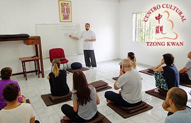 Curso de Meditação no Centro Cultural Tzong Kwan